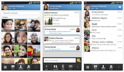 Download BBM 1.0.3.87 For Android APK - Aplikasi Messenger untuk chatting dari Blackberry - Kick Nawan