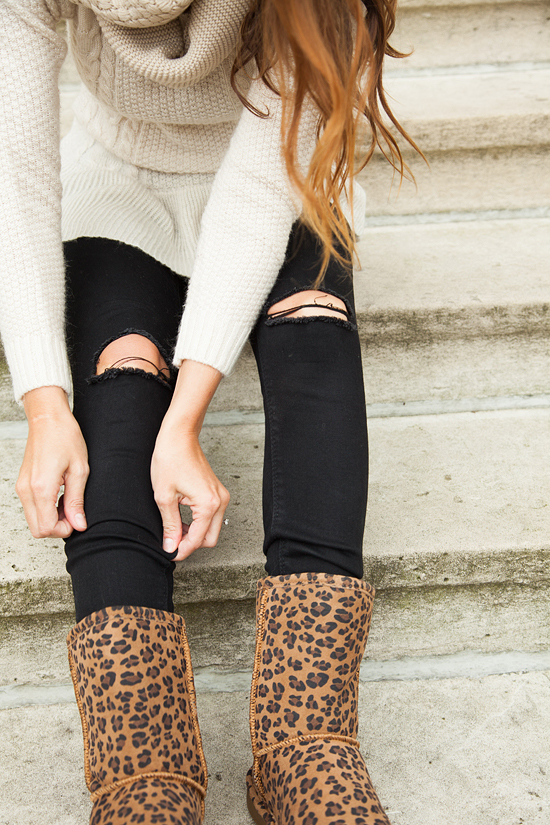 Here&Now: ASOS ripped Ridley jeans