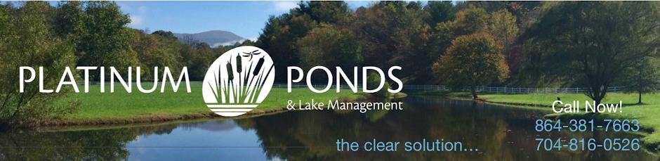 Pond Management | Greenville SC | Charlotte NC
