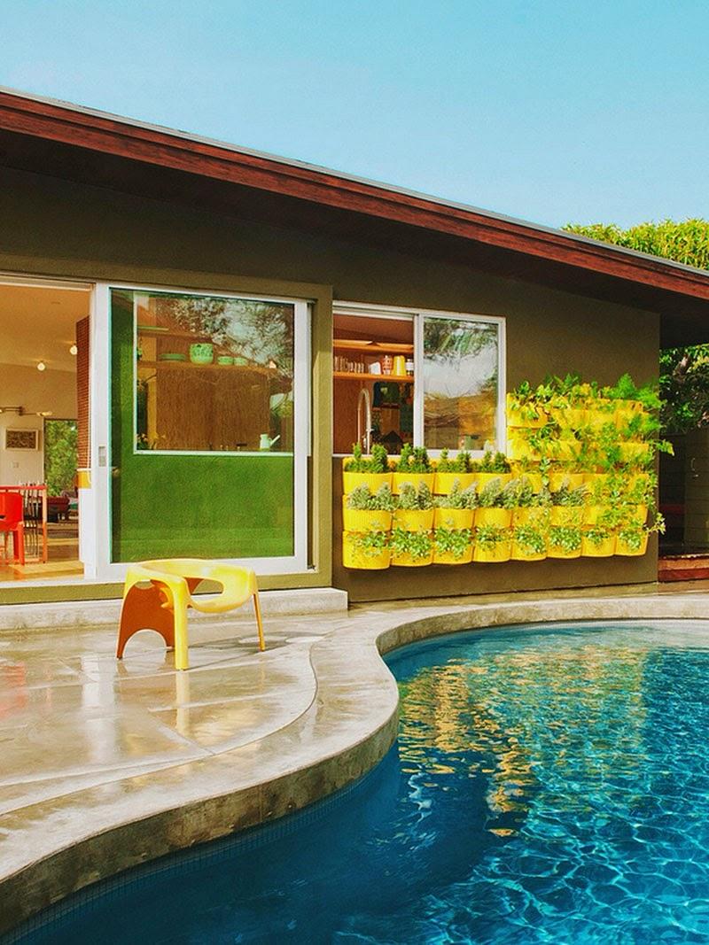 Bungalow in Kalifornien - Plädoyer für offenes Wohnen