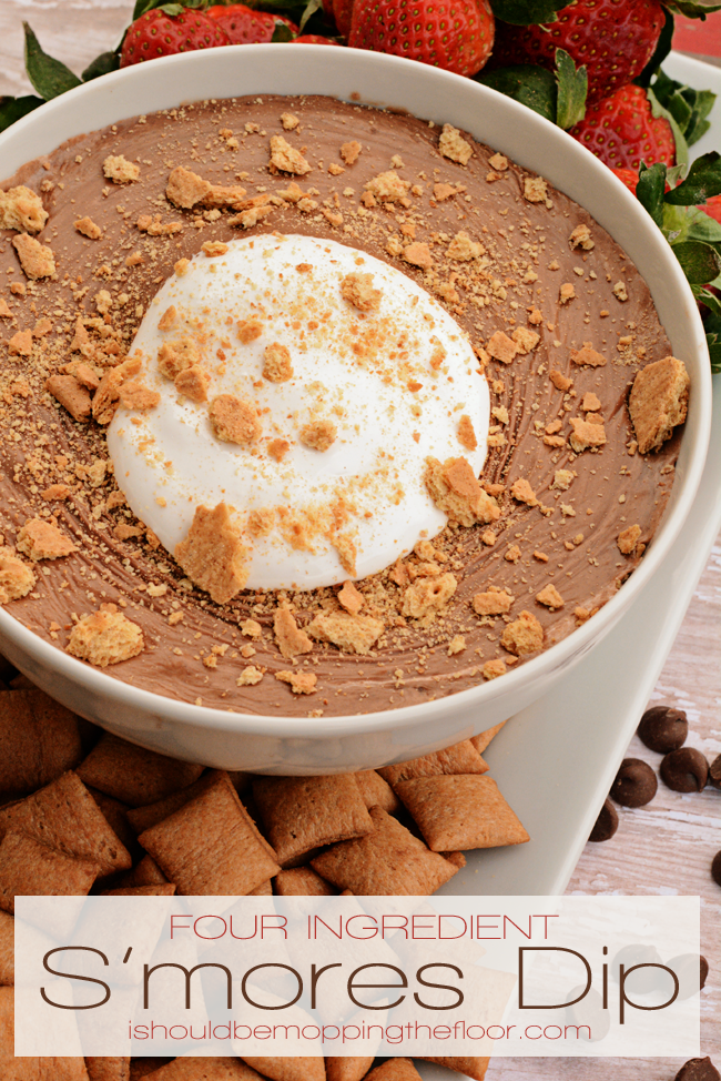 Four-Ingredient S'mores Dip