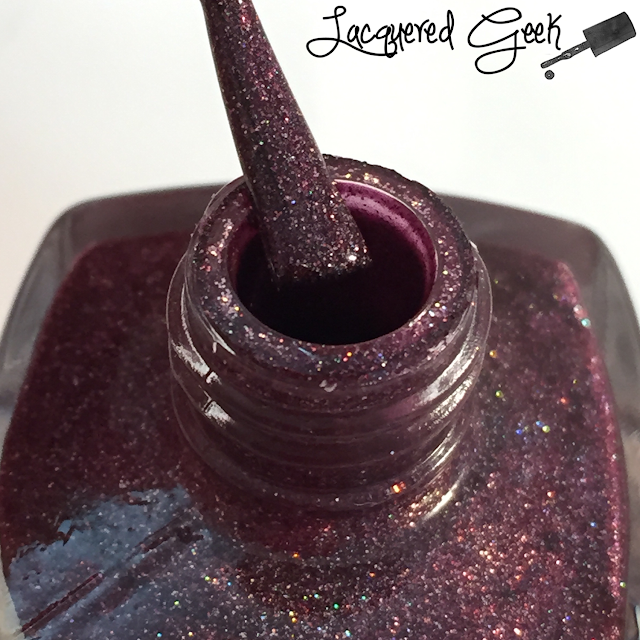 Anonymous Lacquer Fangalicious 2.0 nail polish bottle shot from Lacquered Geek