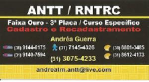 """""""ANTT / RNTRC"""" Em Contagem-MG"""