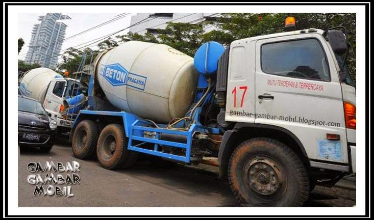 gambar mobil truk molen