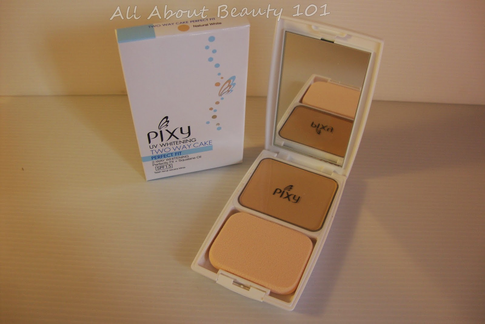 Pixy Uv Whitening Two Way Cake Perfect Fit All About Beauty 101 Compact Powder