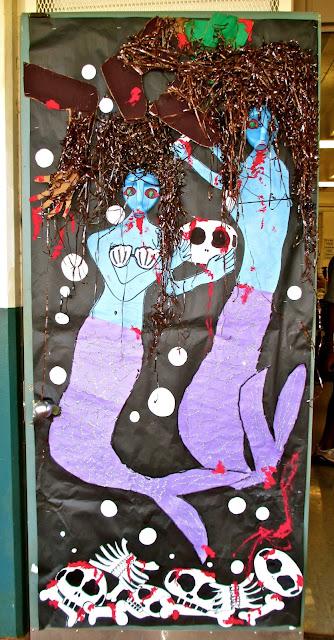 Decorating Ideas > Highlands Intermediate Student Activities Halloween Door  ~ 003601_Halloween Door Ideas Contest
