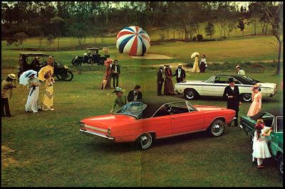 "propaganda Anúncio Dodge - Chrysler ""O resto é passado"" - 1971"