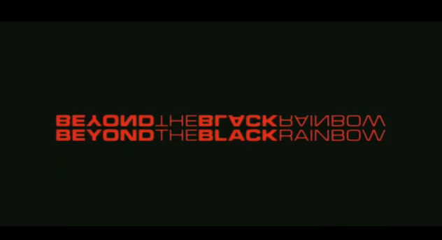 Beyond the Black Rainbow 2012 sci-fi title theatrical release