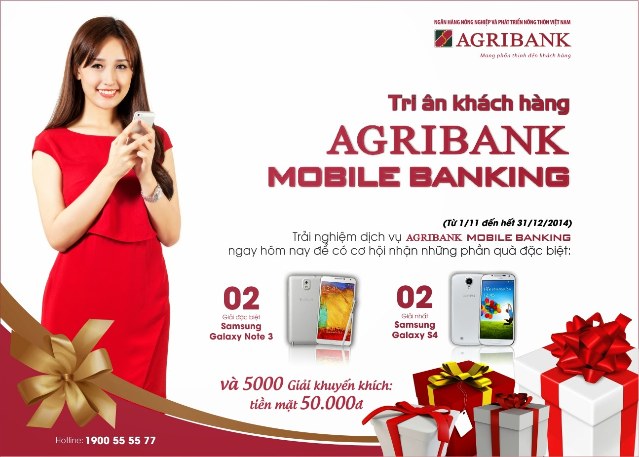 Mobile banking Agribank