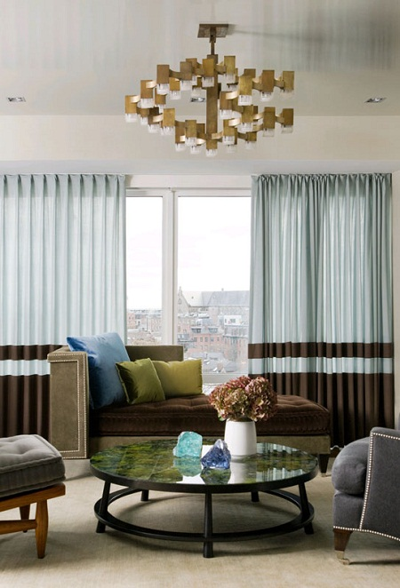Blue and brown living room decorating ideas living room decorating ideas - Brown and blue living room ...