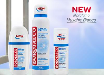 Borotalco deodorante White