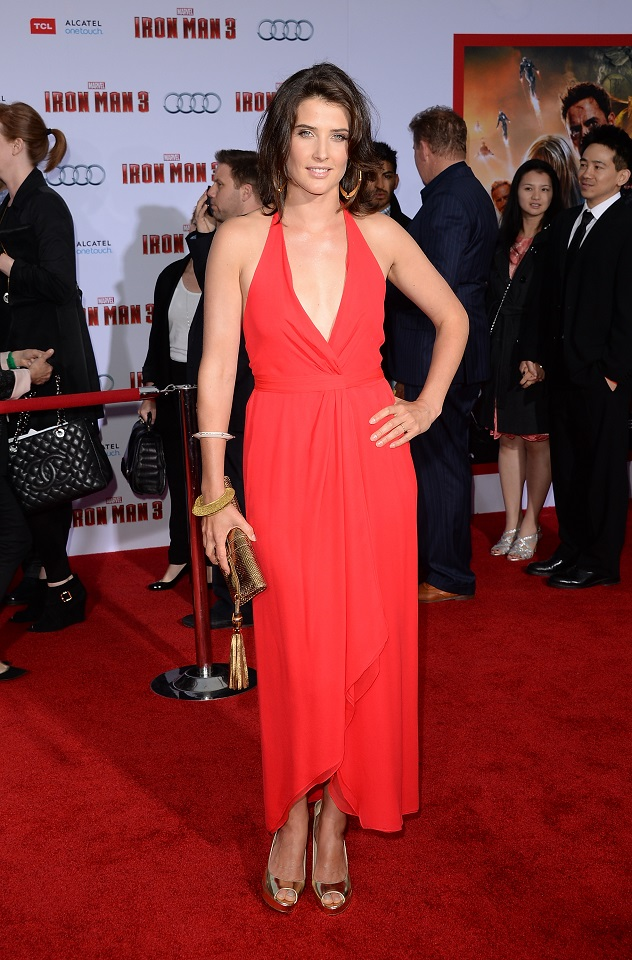 "Cobie Smulders - ""Iron Man 3"" Premiere in Hollywood"
