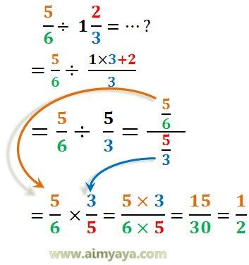 Gambar: contoh soal pembagian pecahan 4