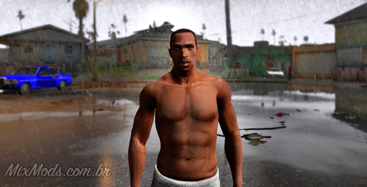 Carl Johnson Remastered (INSANITY CJ) -   MixMods   Mods para GTA SA