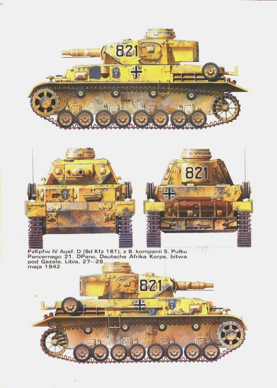 Panzer Iv The Workhorse Panzer Iv In Afrika