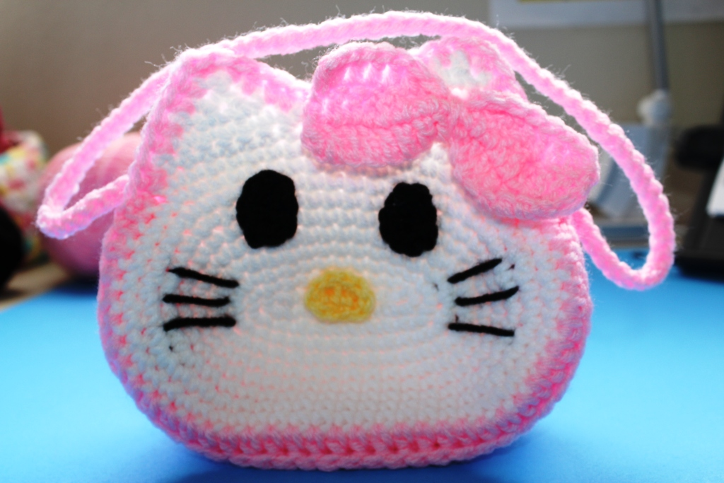 Crochet Purse Patterns Hello Kitty : Free Crochet Patterns: Free Crochet Bags, Purses & Coin ...