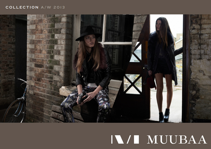 MUUBAA A/W 2013 New Collection