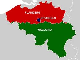 in modern history belgium has been divided in 7 parts 3 regions based on territory flanders wallonia and brussels capital 3 communities based on
