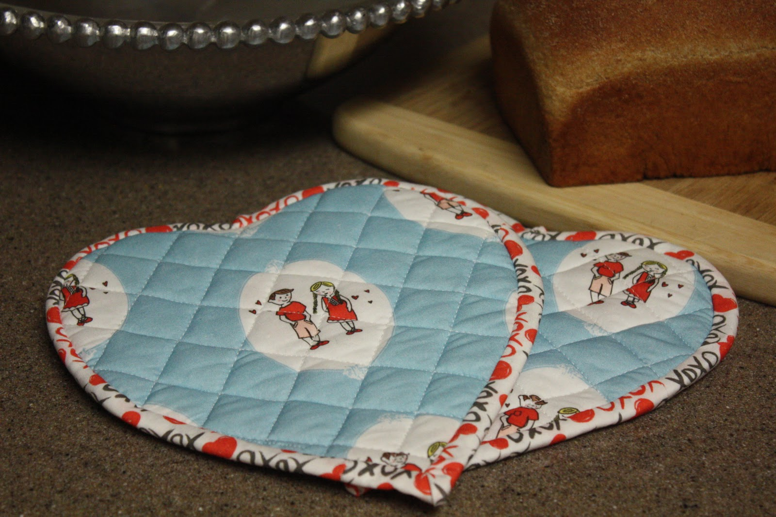 Quilted Pot Holder Pattern Free Patterns