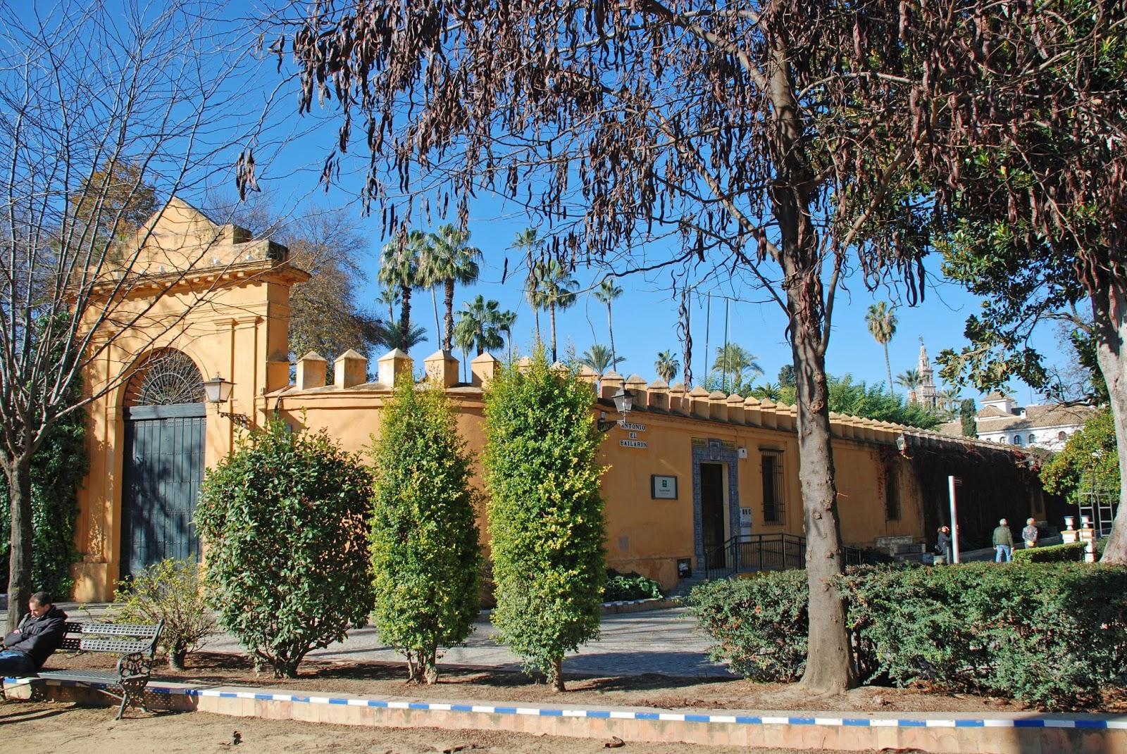 Di rio das viagens sevilha tapas e flamenco - Jardines del eden sevilla ...