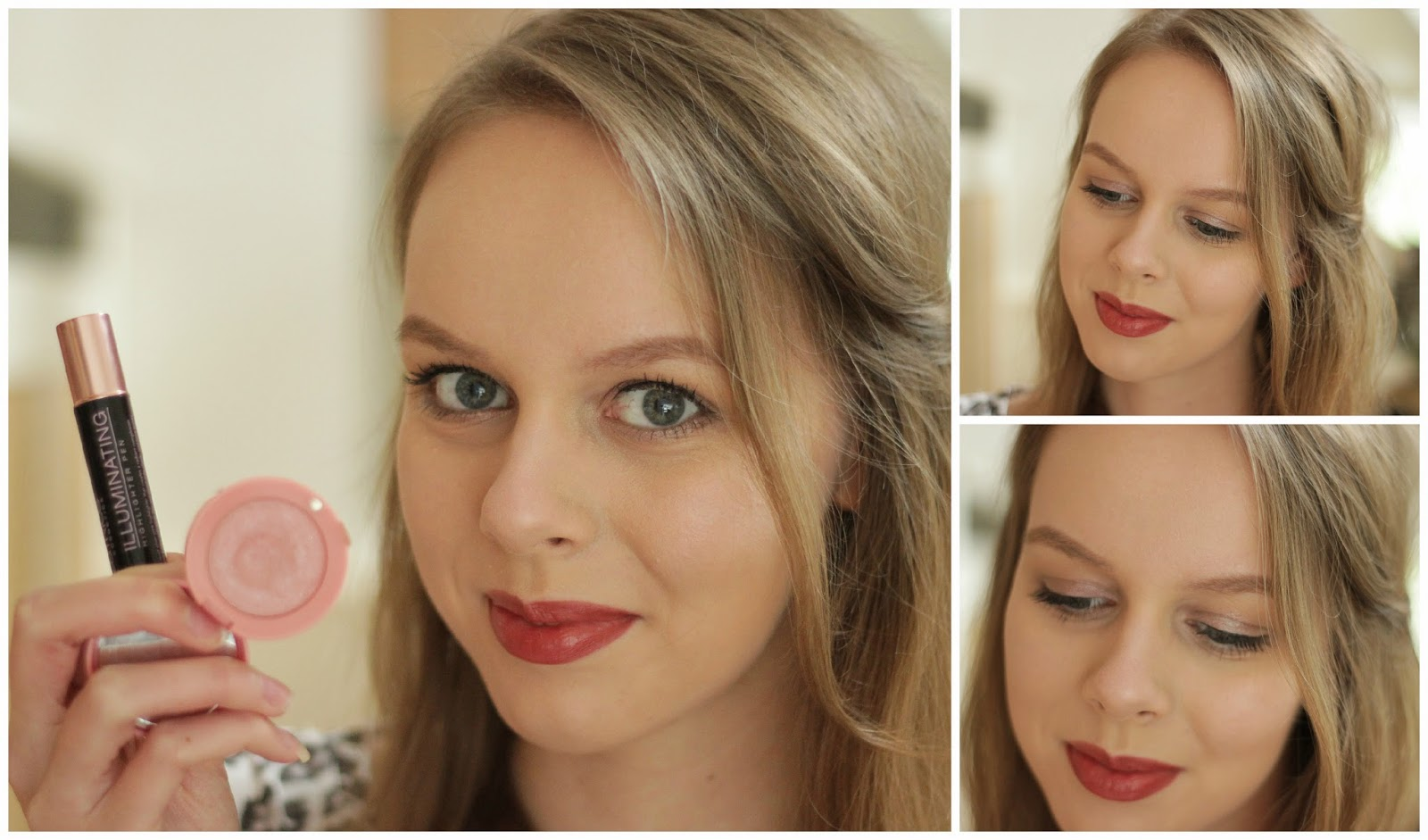 how to cream blush highlighter