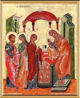 2 februarie - Întâmpinarea Domnului în Templu