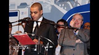 Avec le Président de la Région IDF, l'excellent Jean Paul Huchon