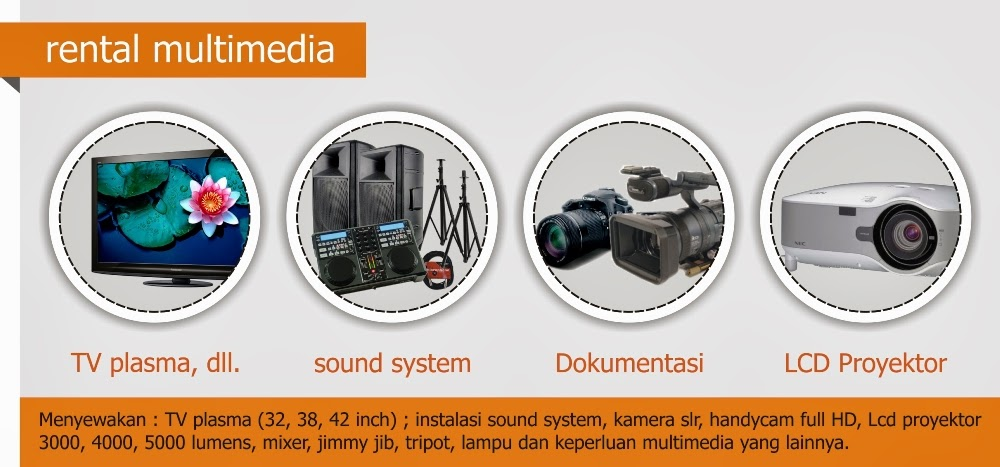 layanan kami rental multimedia
