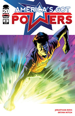 America's Got Powers # 3 - Jonathan Ross Bryan Hitch