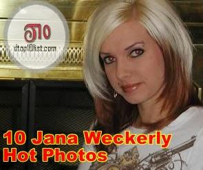 Top 10 Jana Weckerly Hot Photos