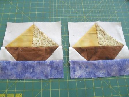 How To Quilt - Quilt Blocks - Simple Quilt Patterns: SAILBOAT ... : sailboat quilt pattern - Adamdwight.com