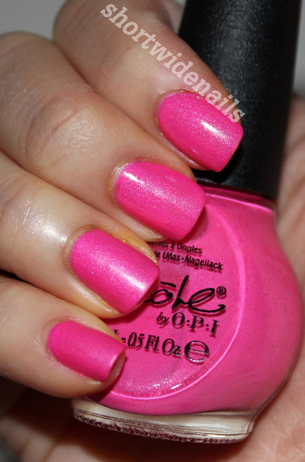 Nicole by O.P.I Spring 2013   Shorties: a nail and beauty blog