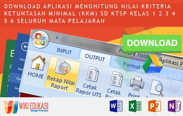 Aplikasi Penilaian Siswa KTSP SD 2015-2016