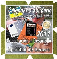 """Calendario solidario 2011 """"Los sueños de las Niñas de Chernóbil"""""""