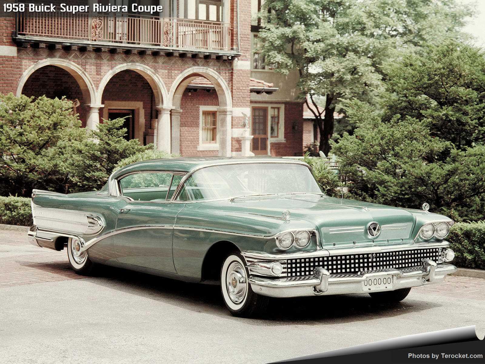 Hình ảnh xe ô tô Buick Super Riviera Coupe 1958 & nội ngoại thất
