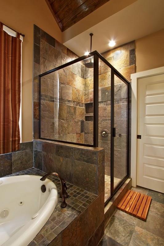 Case di lusso un bagno a dimensione spa - Dimensione bagno ...