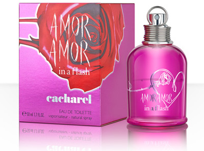 Amor Amor in a Flash Cacharel
