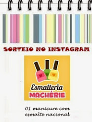 Sorteio Machérie no Instagram