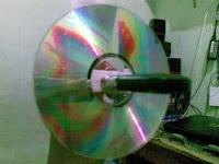 Cara meningkatkan sinyal modem memanfaatkan keping cd tidak terpakai