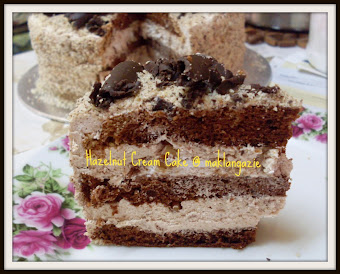 "Hazelnut Cream Cake @ RM65 (loyang 9"")"