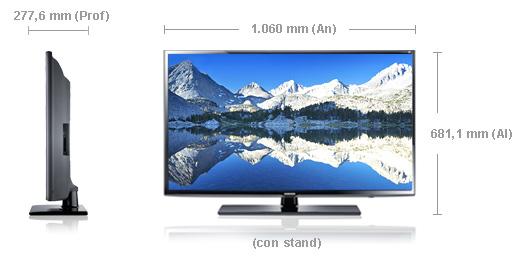 Samsung eh6030 el tv led 3d m s barato de samsung sin - Cuanto mide una tele de 32 pulgadas ...