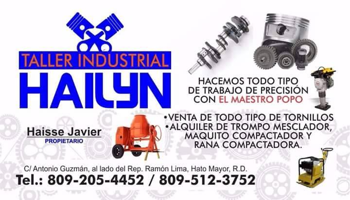 Taller Industrial Hailyn Hacemos todo tipo de Trabajo de Presión con El Maestro POPO