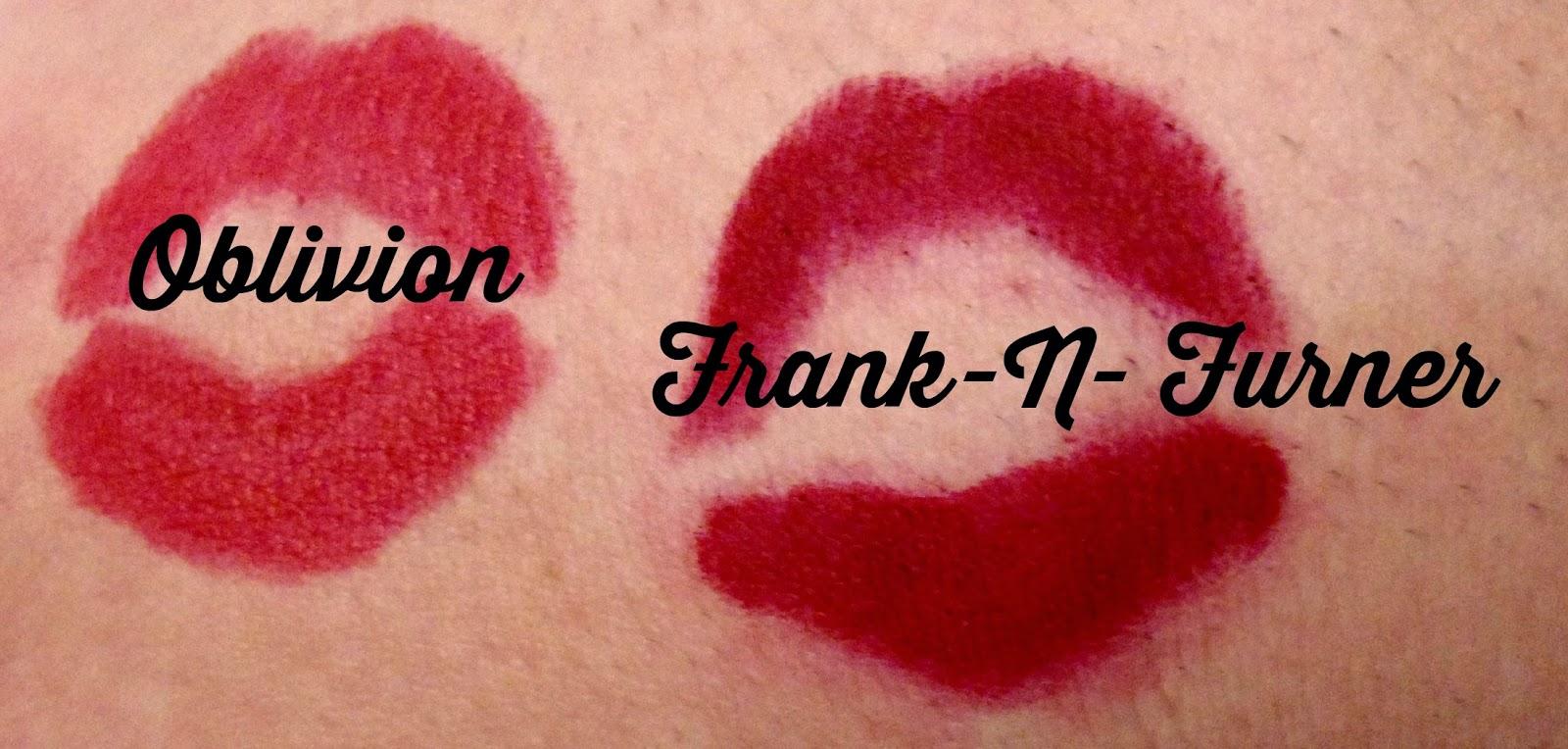 Rocky Horror Lipstick  Oblivion Frank-n- Furtner