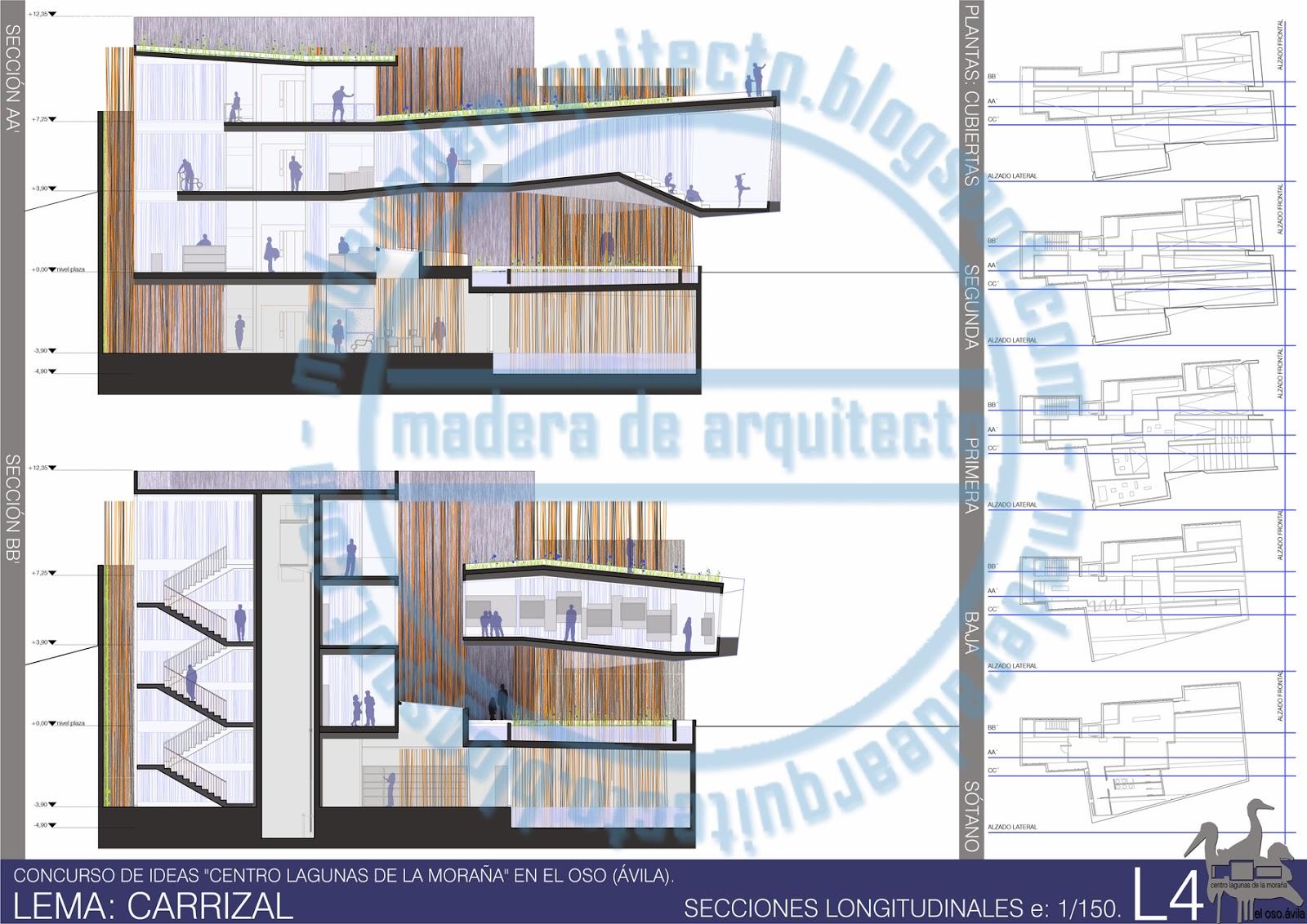 Madera de arquitecto concurso lagunas de la mora a en el - Arquitectos en avila ...