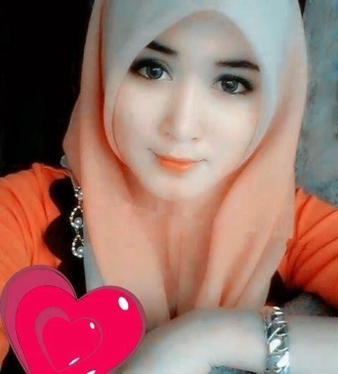 Kumpulan Foto Cewek ABG Cantik Berjilbab Orange
