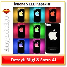 iPhone 5 LED Kapaklar