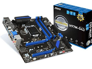 Motherboard MSI H97M G43 Socket 1150