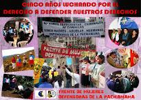 Artículo: Defensoras de la Pachamama. Cinco Años Luchando en Defensa de Nuestros Derechos