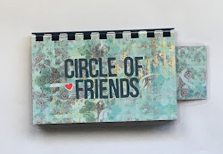 Handmade 'Circle of Friends' Blank Recipe Book for your Personal Recipes $8.99 + shipping