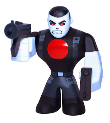 New York Comic Con 2015 Exclusive Valiant Comics Bloodshot Urban Vinyl Figure by CKRTLAB Toys